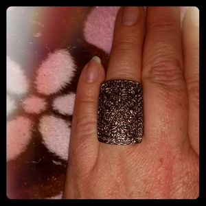 Lovely Silver Statement Ring